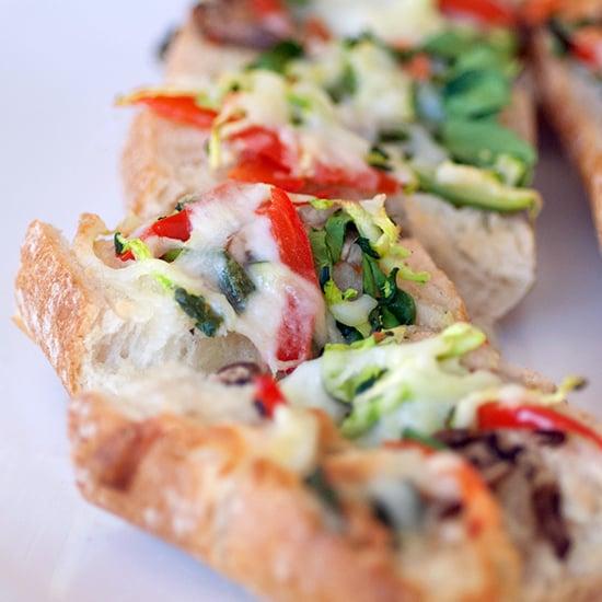 Vegetable Garlic Bread