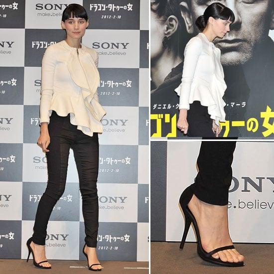 Rooney Mara Givenchy Top at Tokyo Premiere