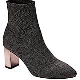 Metallic Sock Boot
