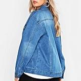 Boohoo Oversized Vintage Look Denim Jacket