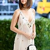 Selena's Custom Coach Met Gala Purse