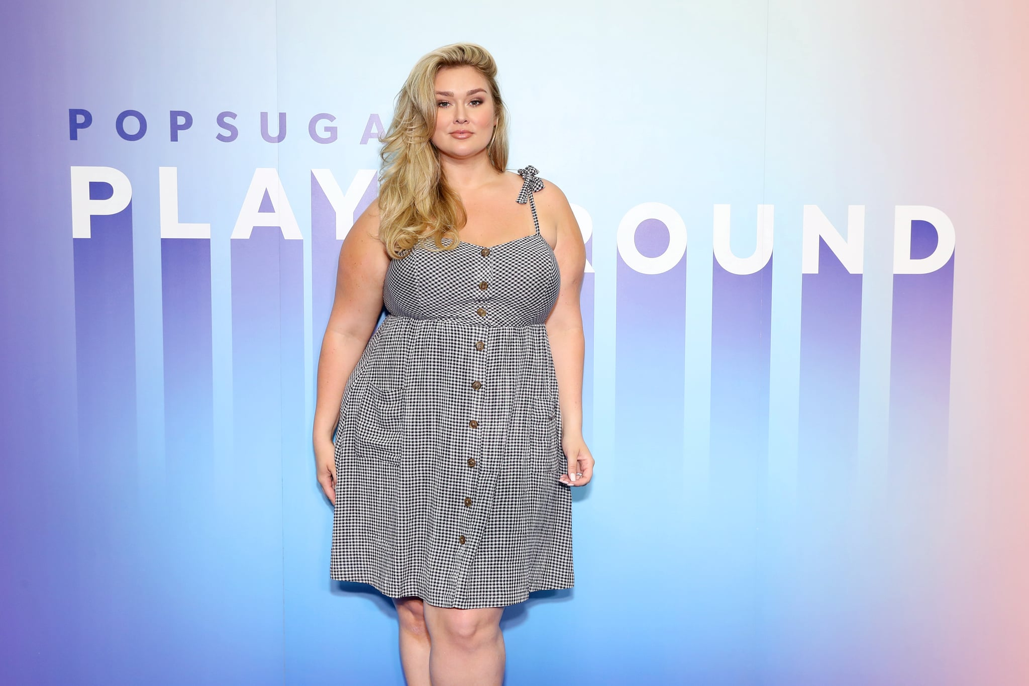 NEW YORK, NEW YORK - JUNE 22: Hunter McGrady attends the POPSUGAR Play/ground at Pier 94 on June 22, 2019 in New York City. (Photo by Cindy Ord/Getty Images for POPSUGAR and Reed Exhibitions )