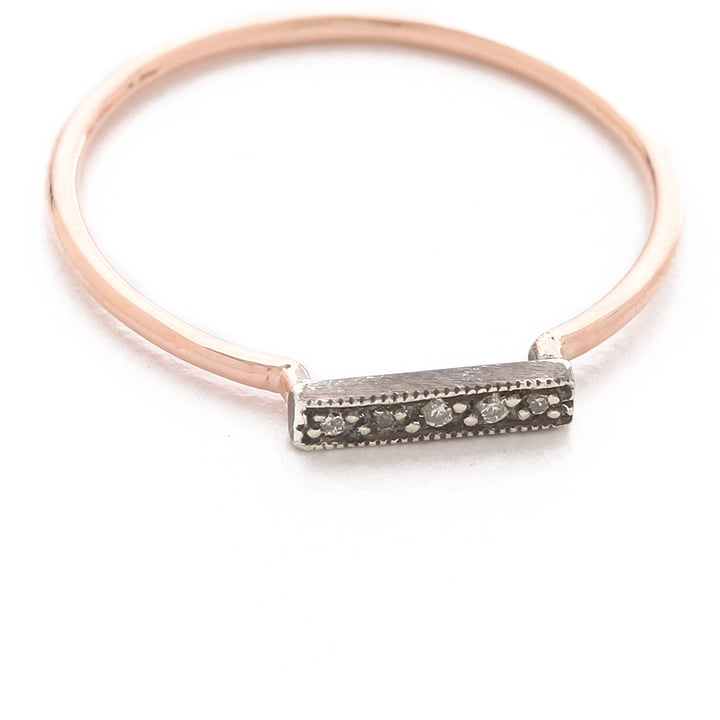 blanca monros gomez Dainty Stacking Diamond Ring ($410)
