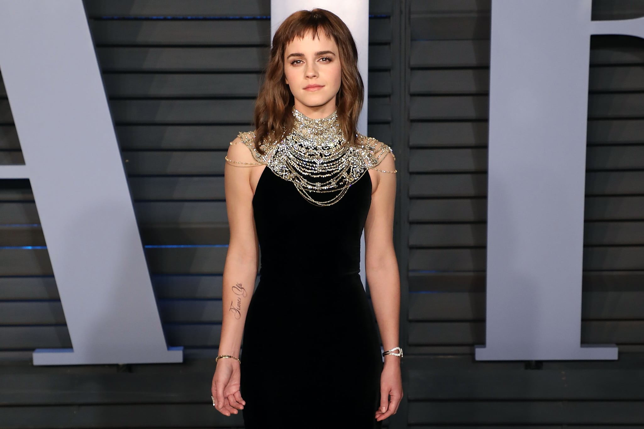 emma watson responds to tattoo controversy | popsugar celebrity