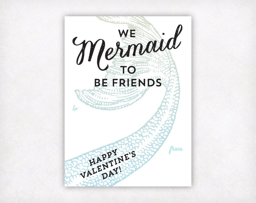 The Little Mermaid Valentines