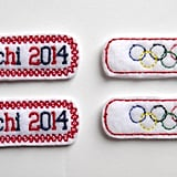 Olympic Barrettes