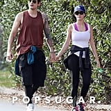 John Mayer and Katy Perry went for a walk around LA.