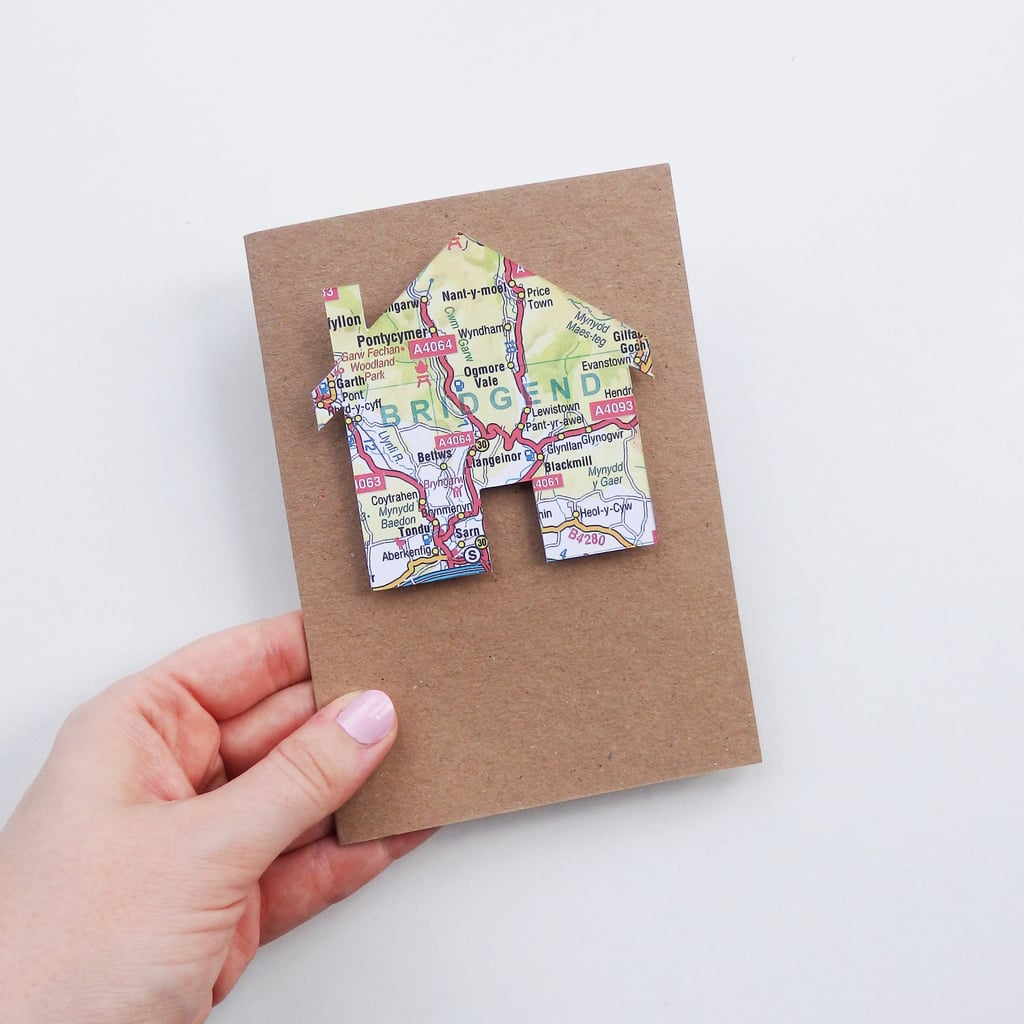 House Map Greeting Card