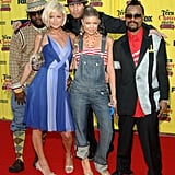 Paris Hilton Posed With the Black Eyed Peas