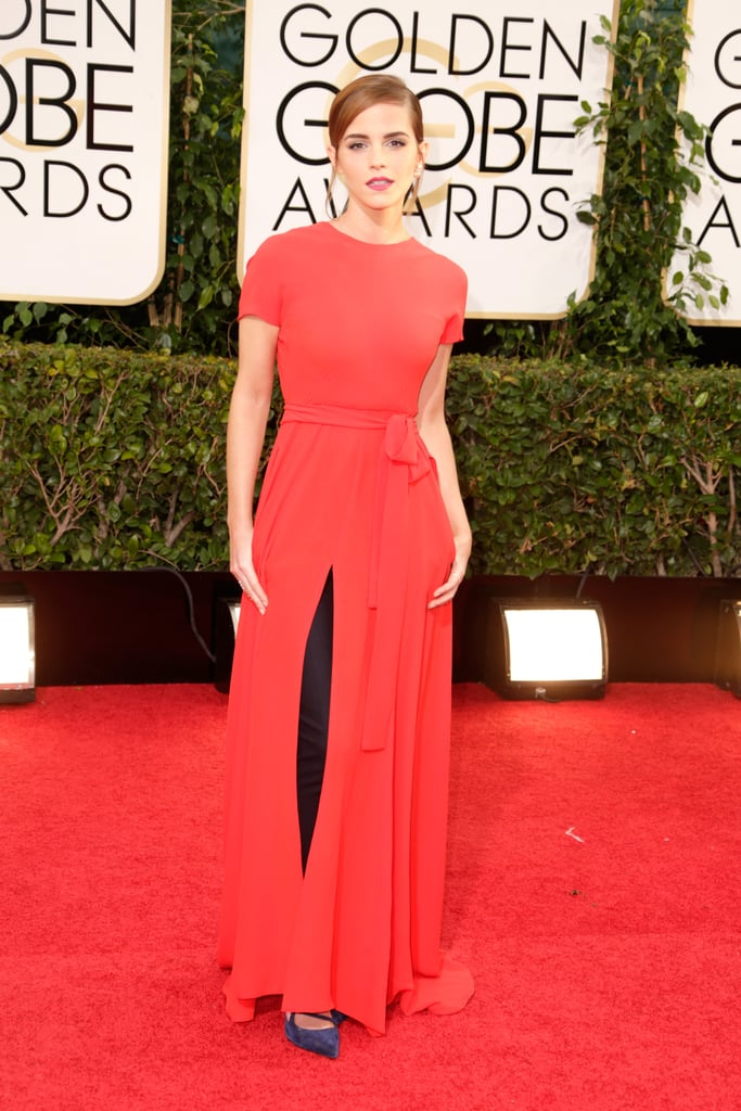 Emma Watson in Christian Dior Couture at 2014 Golden Globes