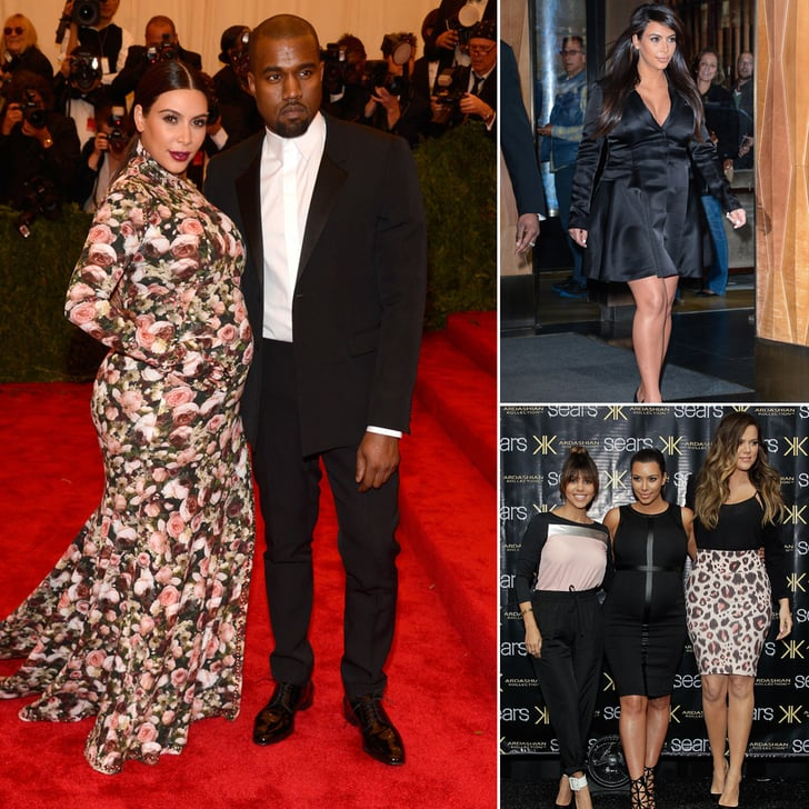 Kim Kardashian's Fierce and Fearless Maternity Style