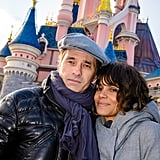 Halle Berry and Olivier Martinez had a romantic Sunday in Disneyland Paris.