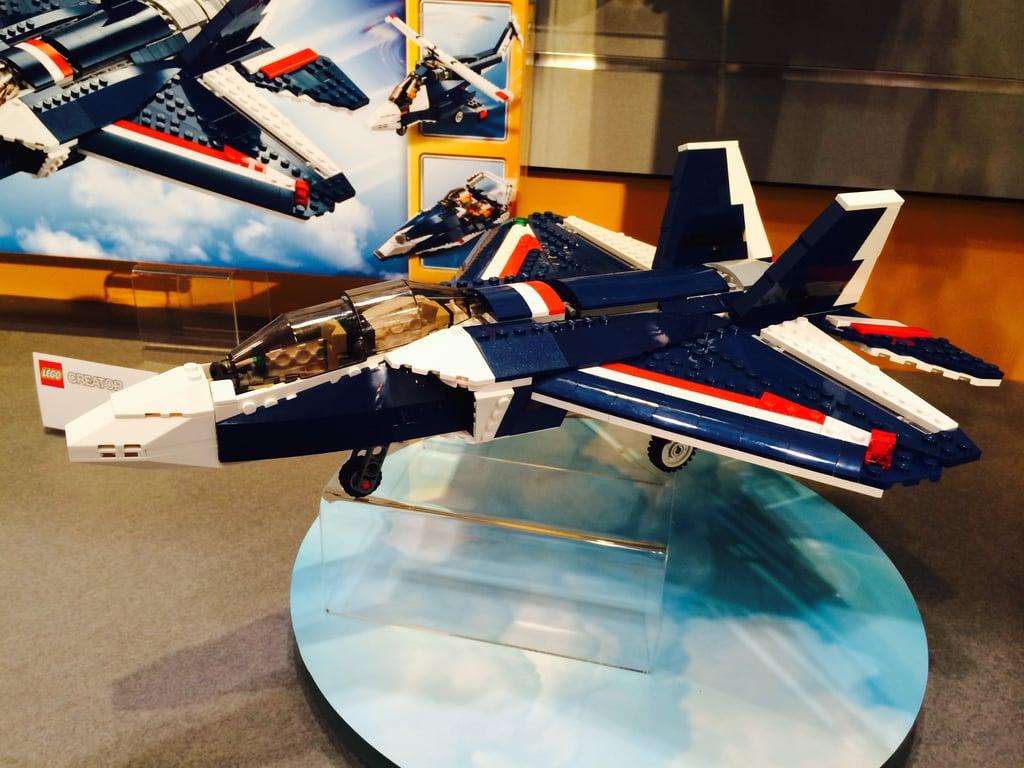 Lego Creator Blue Power Jet