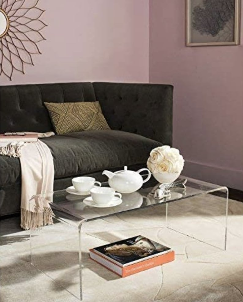 Try Out Clear, Glass or Lucite Furniture