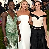 Lupita Nyong'o, Margot Robbie, and Emma Watson — 2016
