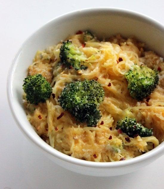 Spaghetti Squash Mac and Cheese