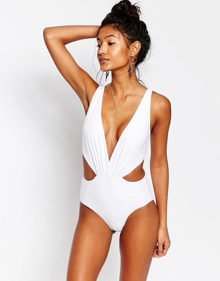 South Beach Plunge Tie-Back Swimsuit