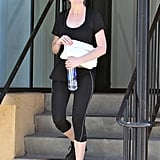 Joining the long list of Tracy Anderson clients is Kirsten Dunst. The actress was spotted leaving the celebrity trainer's Studio City locale.