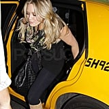 Photos of Britney Spears and Hilary Duff at Madison Square Garden