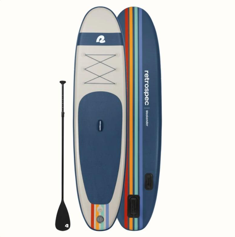 Retrospec Weekender Inflatable Paddle Board