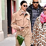 Kendall's Green Belt Bag