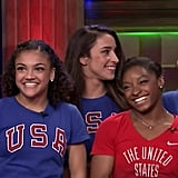 That time she was on Jimmy Fallon with her team