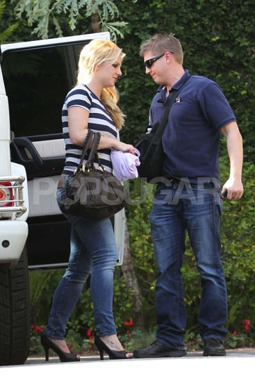 Pictures of Britney Spears at Studio in LA
