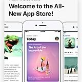 A new app-store design.