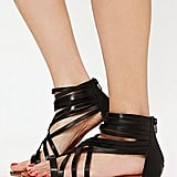 Keep a basic pair of strappy gladiator sandals in your closet for a low-key way to add interest and charm to dresses, skirts, or shorts.  Free People Monte Gladiator Sandal ($60)