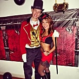 Ringmaster and Circus Performer