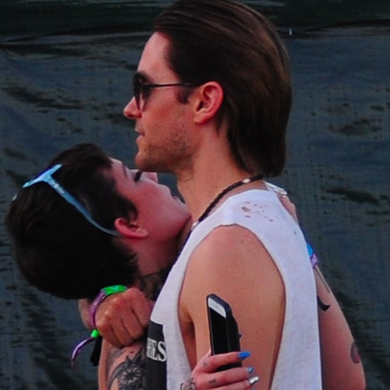 Jared Leto and Halsey Together at Coachella 2016 Pictures