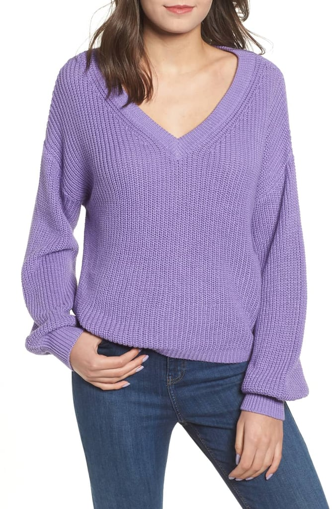 BP. V-Neck Cotton Sweater