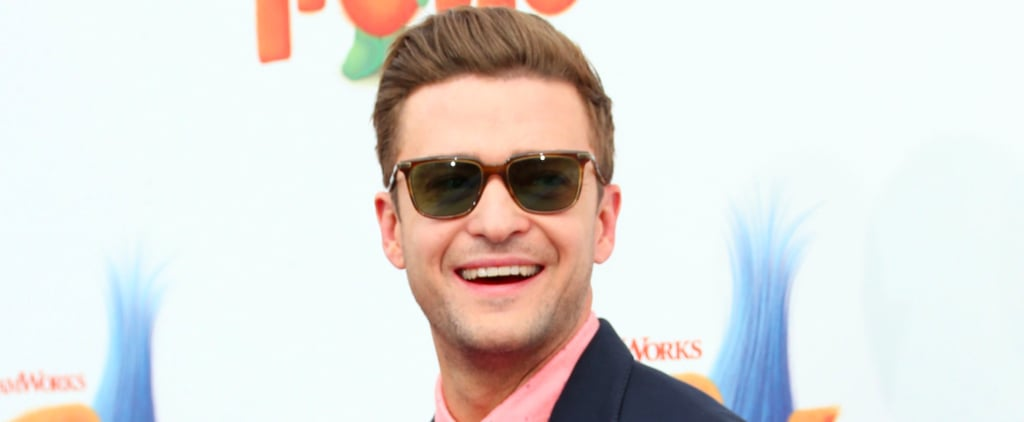 Let's Talk About How Ridiculously Cute Justin Timberlake Looks at the Latest Trolls Premiere