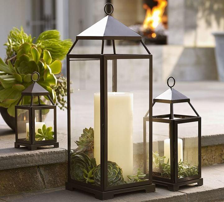 Pottery Barn Malta Lantern ($34)