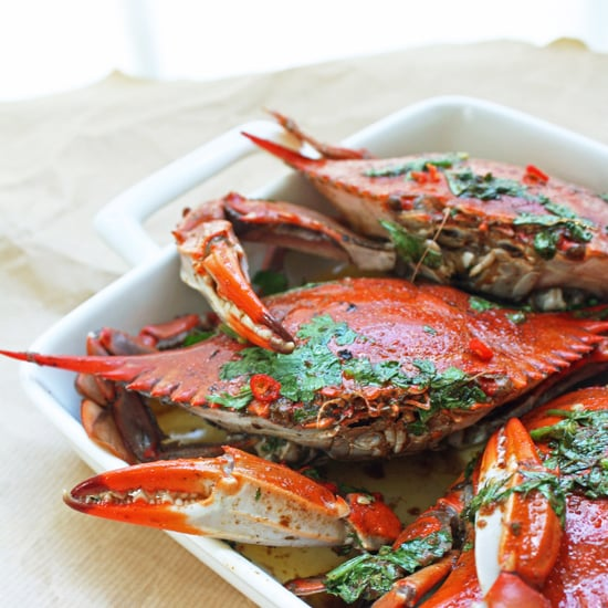 Blue Crabs w/ Chipotle & Lime Brown Butter Sauce