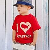 """I Heart America"" Tee"