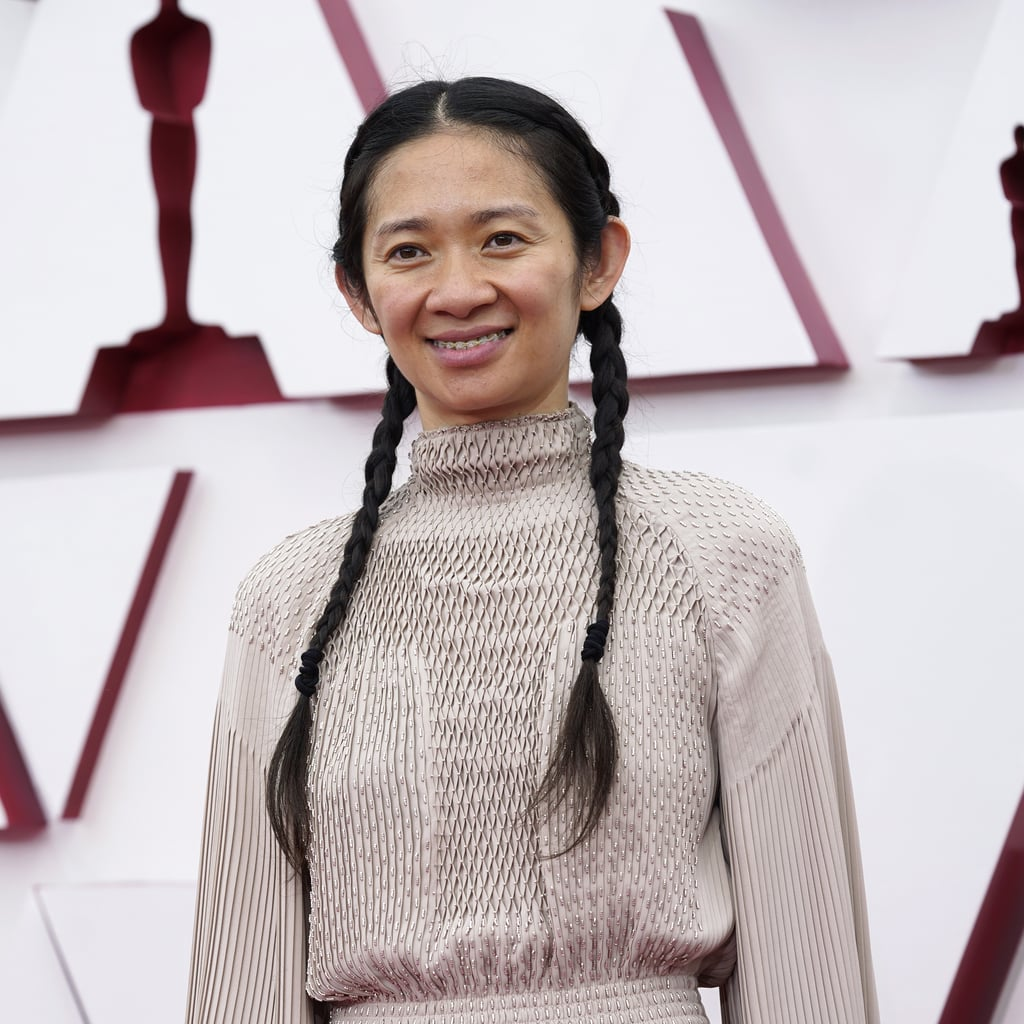 Chloé Zhao's Braids and No Makeup at the Oscars 2021