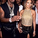 Diddy and J Lo were still dating.