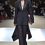 The second we saw this tailored suit go down the runway, we envisioned Meghan Markle wearing it at her next formal event.