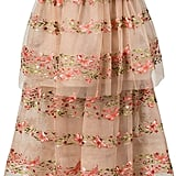 Marchesa Layered Floral Dress