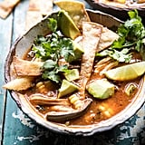 Poblano Corn Chicken Tortilla Soup