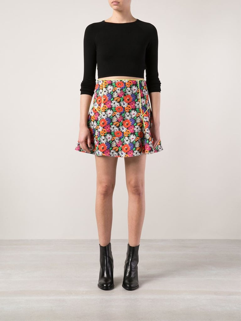 The Quirky Printed Miniskirt