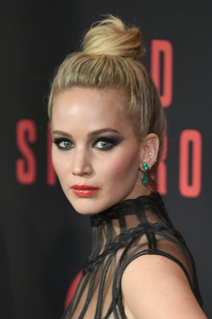 Jennifer Lawrence at the Red Sparrow Premiere