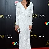 Michala Banas went for white at the AACTA Awards.