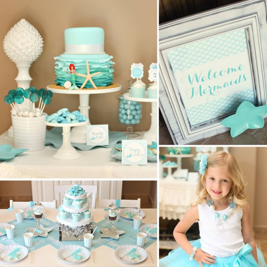 Birthday Parties: A Mermaid Birthday Party Fit For an Underwater Princess