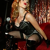 Scarlett performed with the Pussycat Dolls at The Viper Room in 2004.