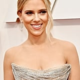 Scarlett Johansson's Diamond Earrings at the 2020 Oscars