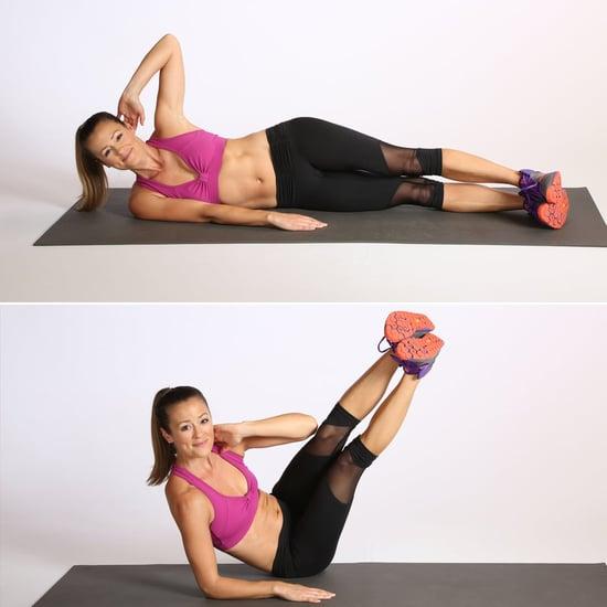 أفضل تمرين للعضلات المائلة دون أوزان