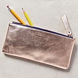 Metallic Idiom Pencil Case ($24)