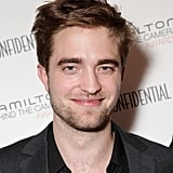Robert Pattinson pleased photographers with a smile in LA.